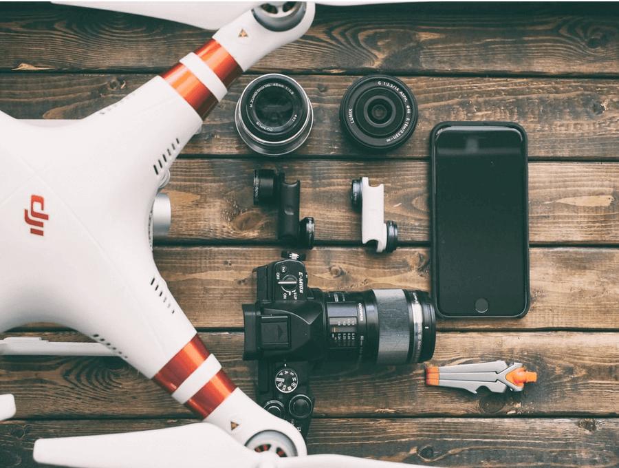 Videoapparatuur bij uw opnames