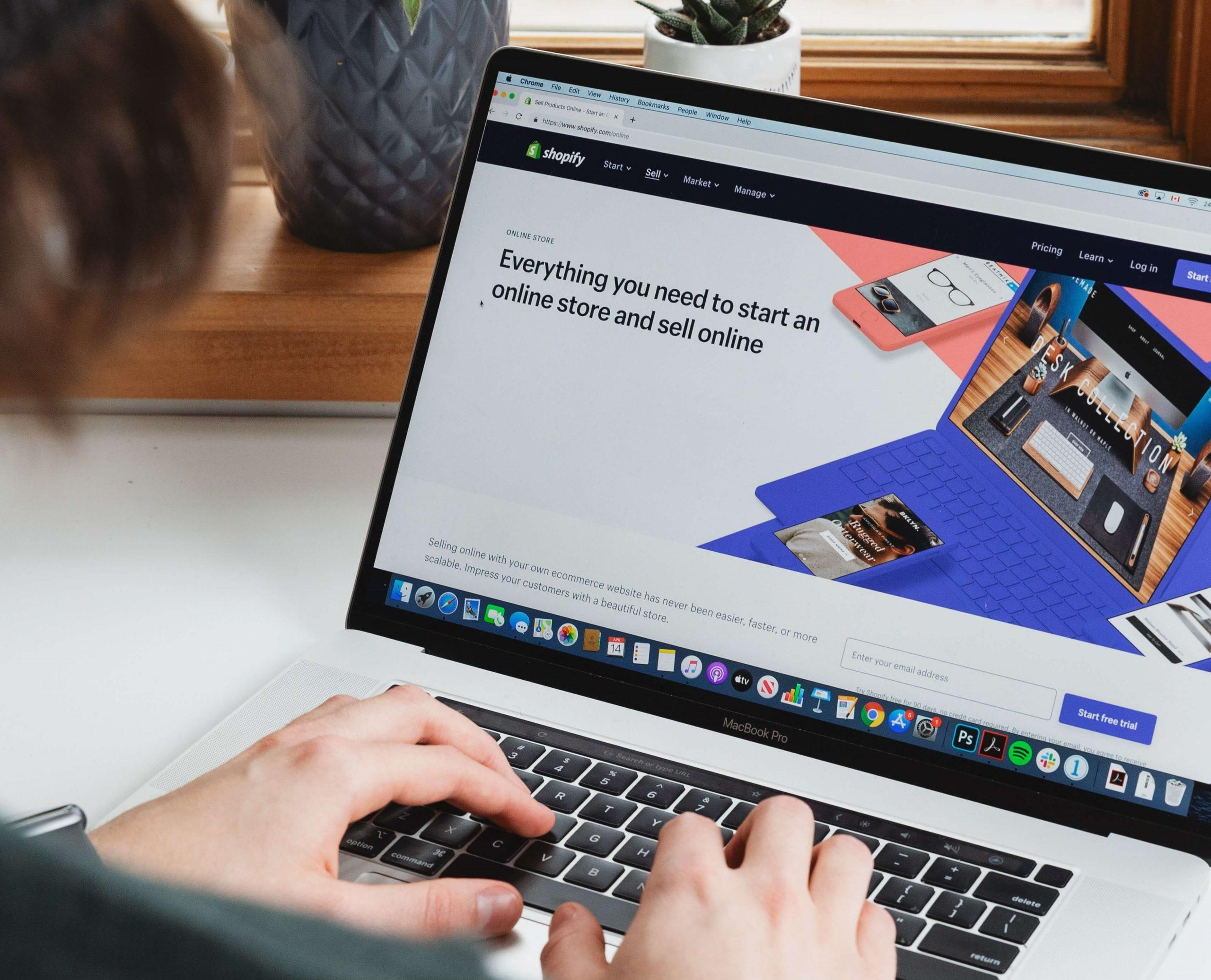 Een Shopify website laten maken